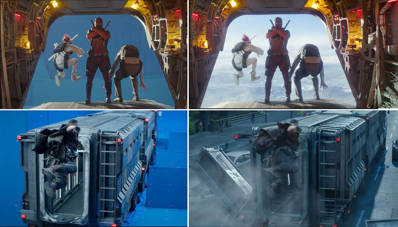 Deadpool 2's mind boggling scene raised the bar for VFX